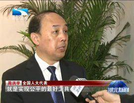 湖北卫视:周洪宇谈教育改革